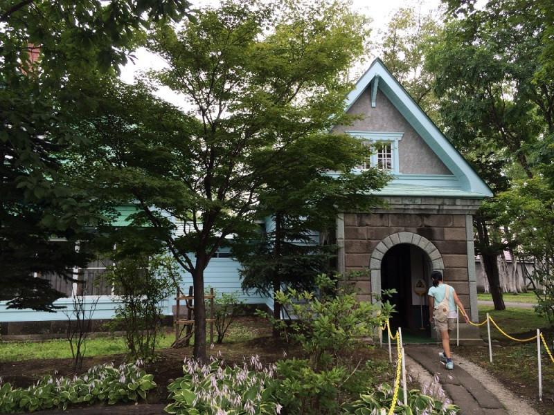 竹鶴とリタ住居