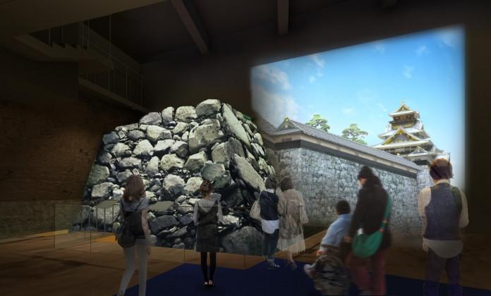 豊臣期大阪城石垣